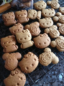 Some of them cracked quite badly. Wrinkled Kitties and Mice.