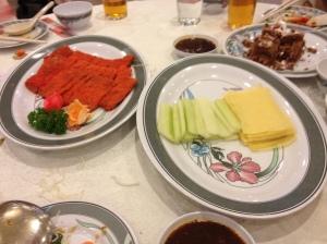 Peking duck vegetarian style...yums